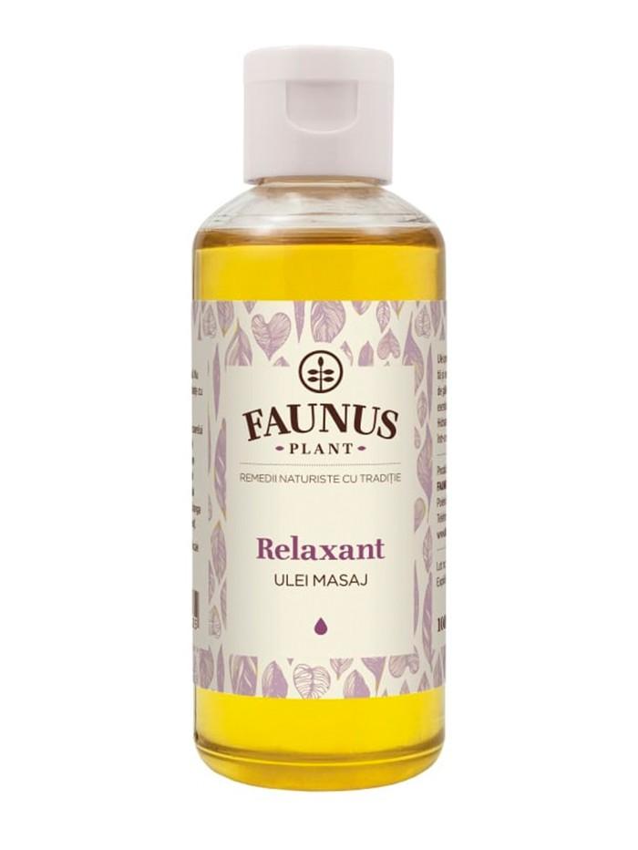 FAUNUS Ulei masaj 100 ml Relaxant imagine produs