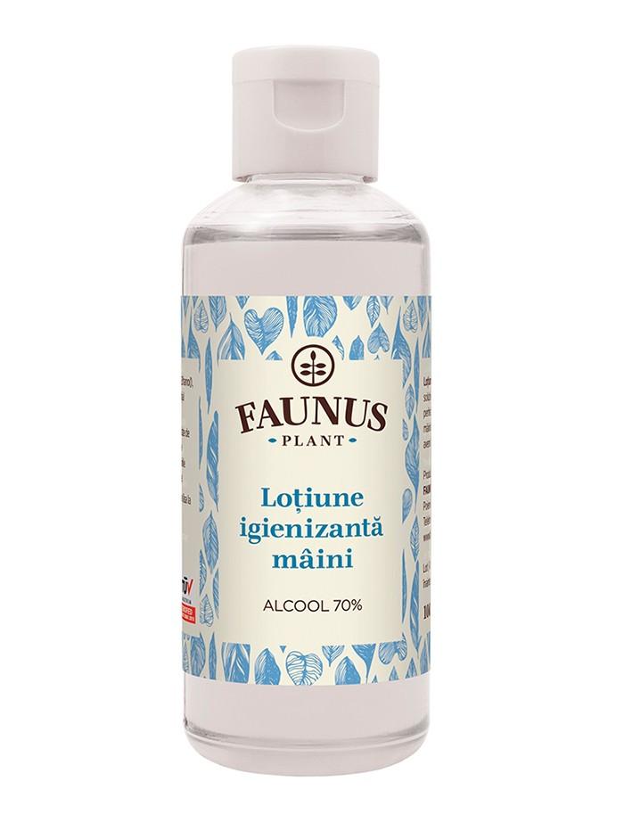 FAUNUS Lotiune igienizanta maini 100 ml Alcool 70% imagine produs