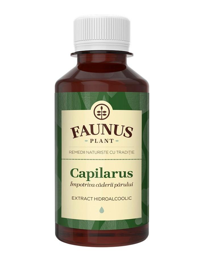 FAUNUS Tinctura Capilarus 200 ml Impotriva caderii parului imagine produs