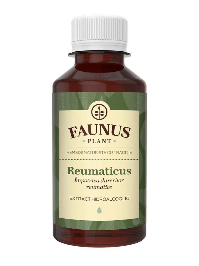 FAUNUS Tinctura Reumaticus 200 ml Impotriva durerilor reumatice imagine produs