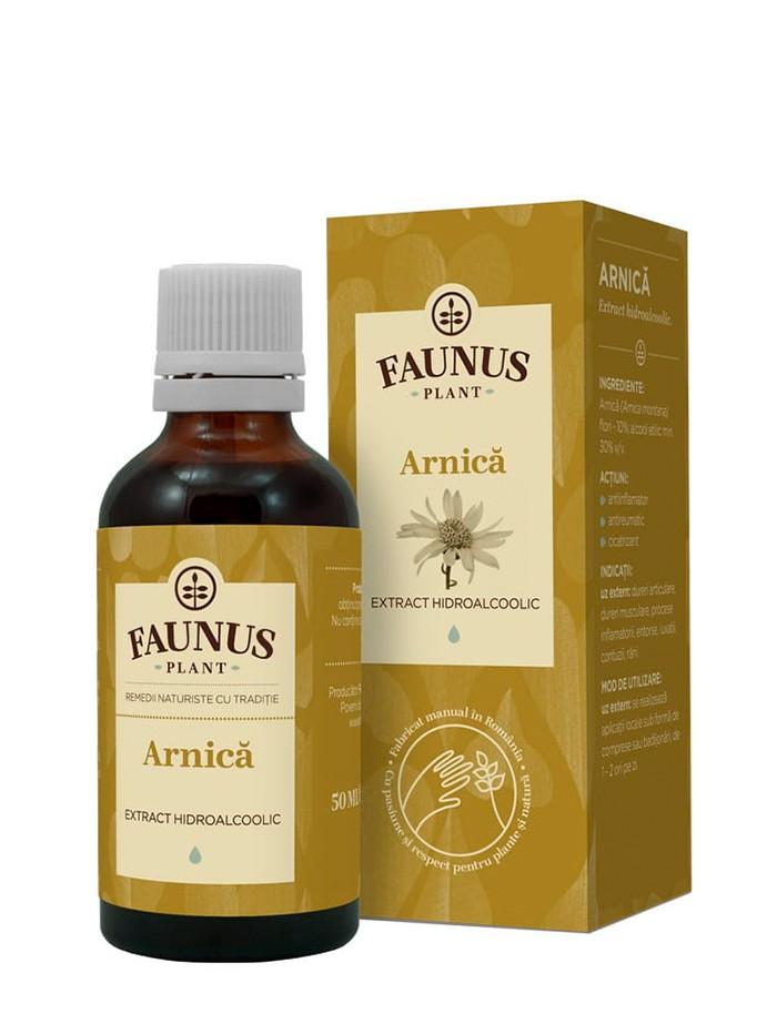 FAUNUS Tinctura Arnica 50 ml imagine produs