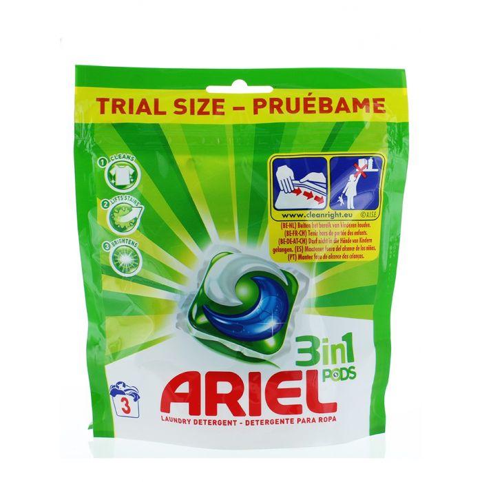 Ariel Detergent Capsule 3in1 3 buc Mountain Spring