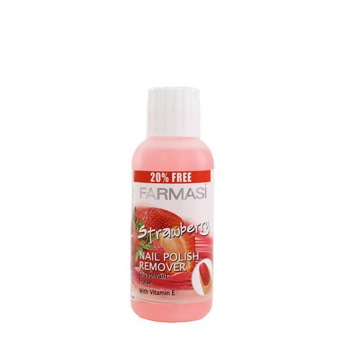 Farmasi Acetona pentru unghii 100 ml Strawberry