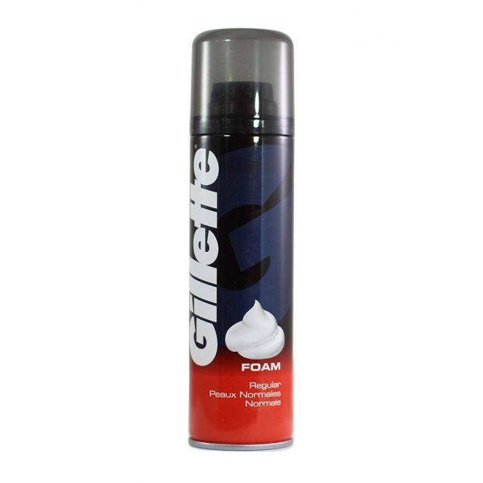 Gillette Spuma de ras 200 ml Normal