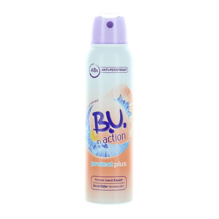 B.U. Spray Deodorant 150 ml Action Protect plus