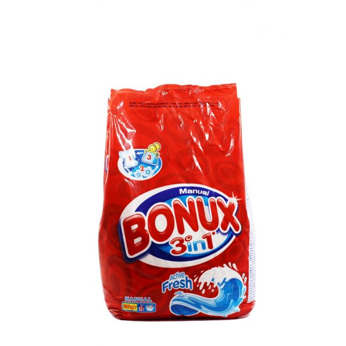 Bonux Detergent Manual 900 g Active Fresh