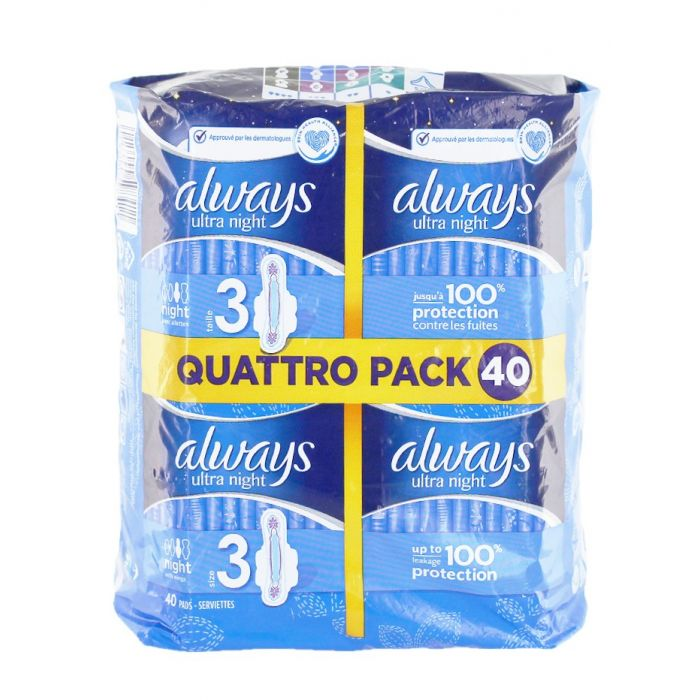 Always Absorbante Quattro Pack 40 buc Normal (exp:17.05.2019)