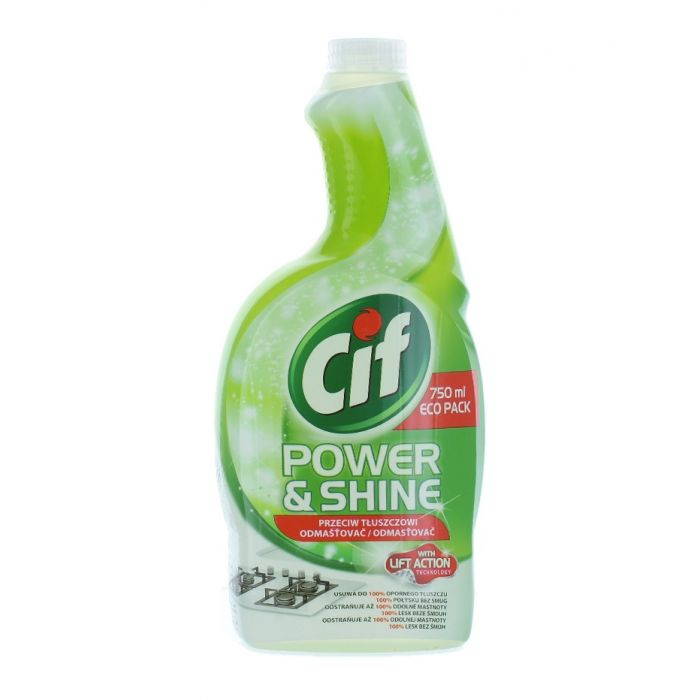 Cif Solutie curatat bucatarie rezerva 750 ml Power Cream