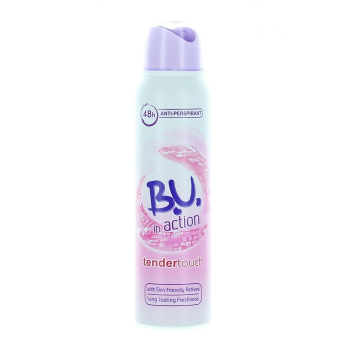 B.U. Spray Deodorant 150 ml Action Tender Touch