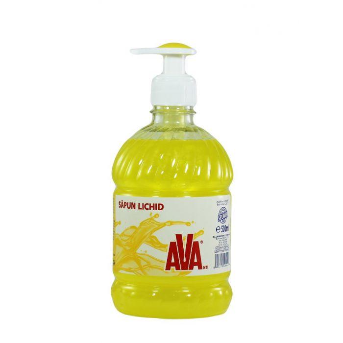Ava Sapun lichid cu pompa 500 ml Galben