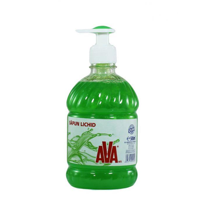 Ava Sapun lichid cu pompa 500 ml Verde