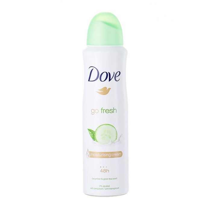 Dove Spray Deodorant femei 150 ml Go fresh Castraveti