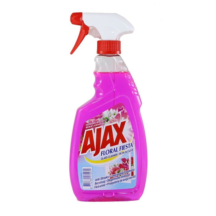 Ajax Solutie curatat geamuri 500 ml Flowers Bouquet