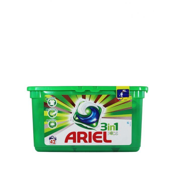 Ariel Detergent Capsule 3in1 42 buc Mountain Spring