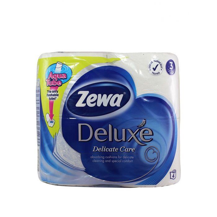 Zewa Hartie toaleta 3 straturi Deluxe 4 role Dalicate Care