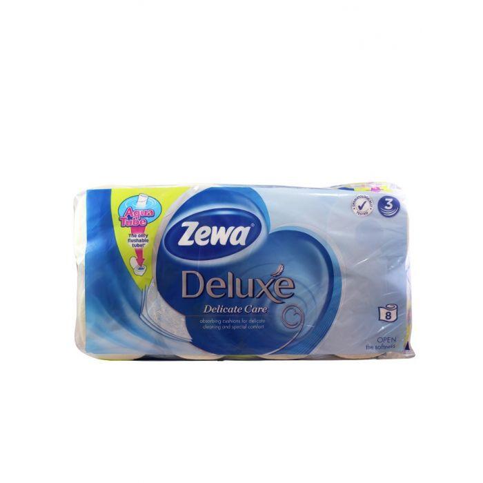 Zewa Hartie toaleta 3 straturi Deluxe 8 role Delicate Care