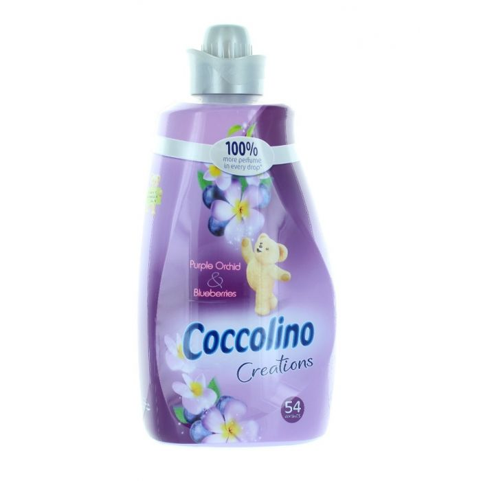 Coccolino Balsam de rufe 1.9L 54 spalari Purple Orchid&Blueberries