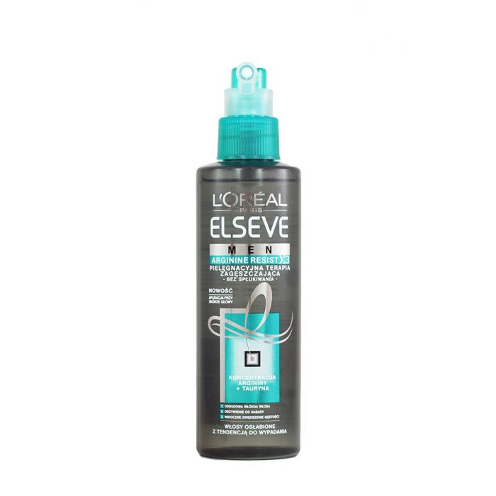Elseve Tratament de par barbati 200 ml Arginine resist x3