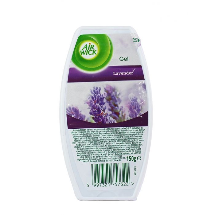 Airwick Gel odorizant camera 150 ml Lavender