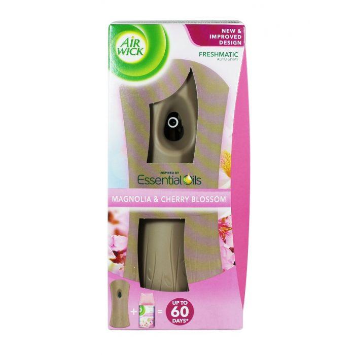 Airwick Aparat Odorizant camera+rezerva 250 ml Magnolie si flori de cires