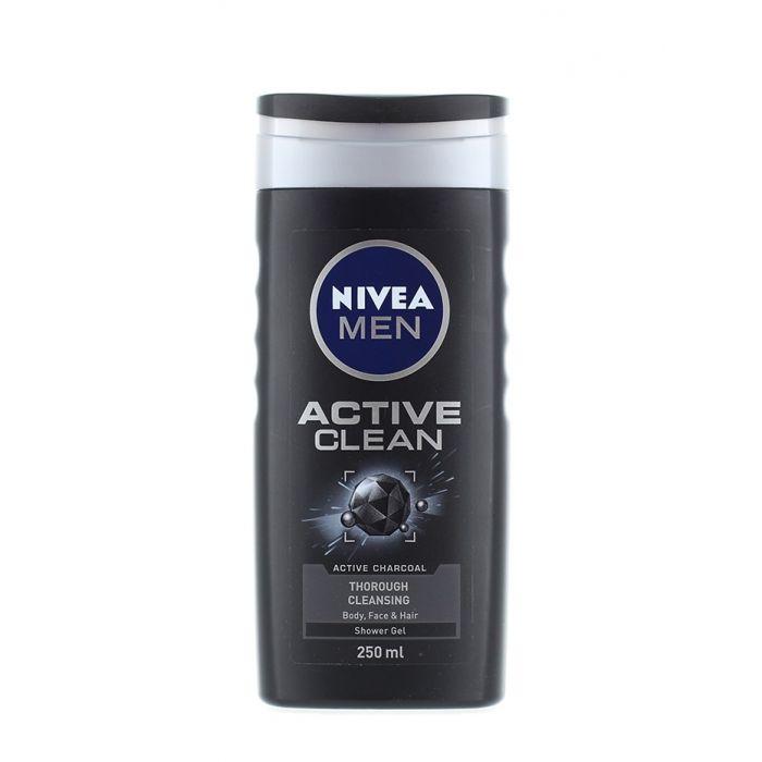 Nivea Gel de dus 250 ml Men Active Clean