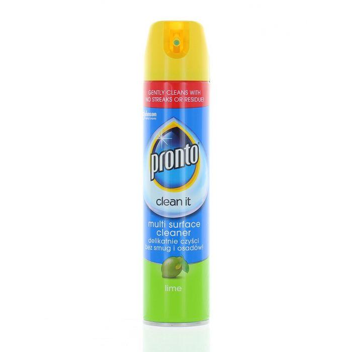 Pronto Spray pentru lustruit mobila 250 ml Multi suprafete Lime