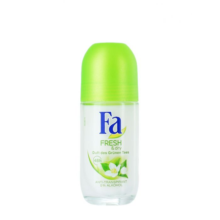 Fa Roll-on femei 50 ml Fresh&Dry Grunen Tee