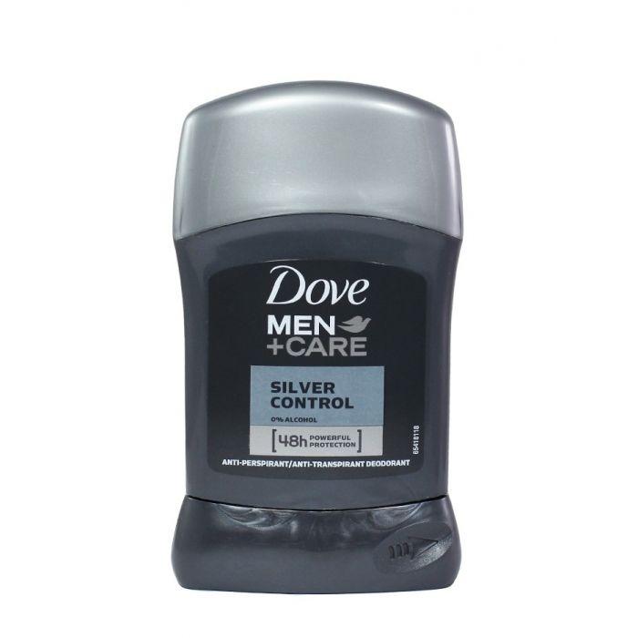 Dove Stick deodorant barbati 50 g Silver Control