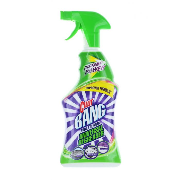 Cillit Bang Solutie de curatat bucatarie cu pompa 750 ml Grease&Sparkle