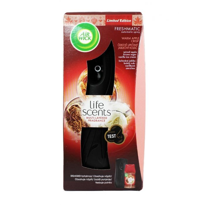 Airwick Aparat odorizant camera+rezerva 250 ml Warm apple crisp
