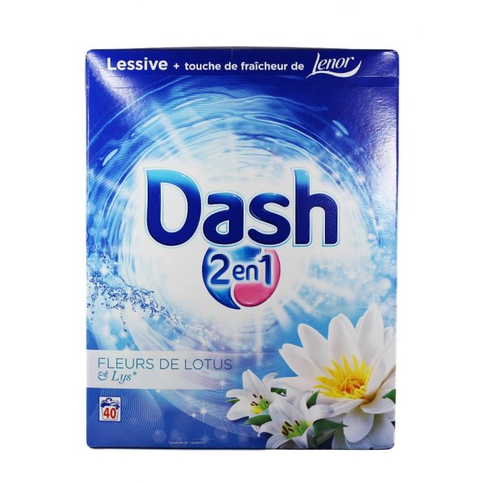 Dash Detergent automat 2600g 40 spalari Fleurs de Lotus