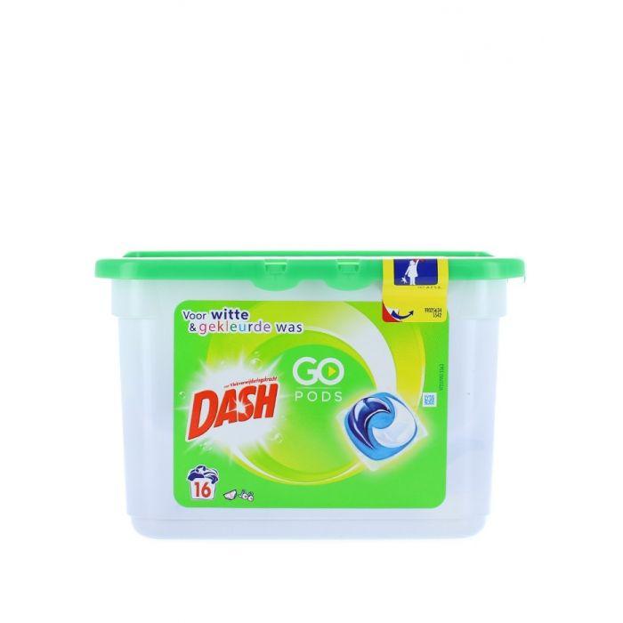 Dash Detergent Capsule 16 buc 3in1 GoPods Regular
