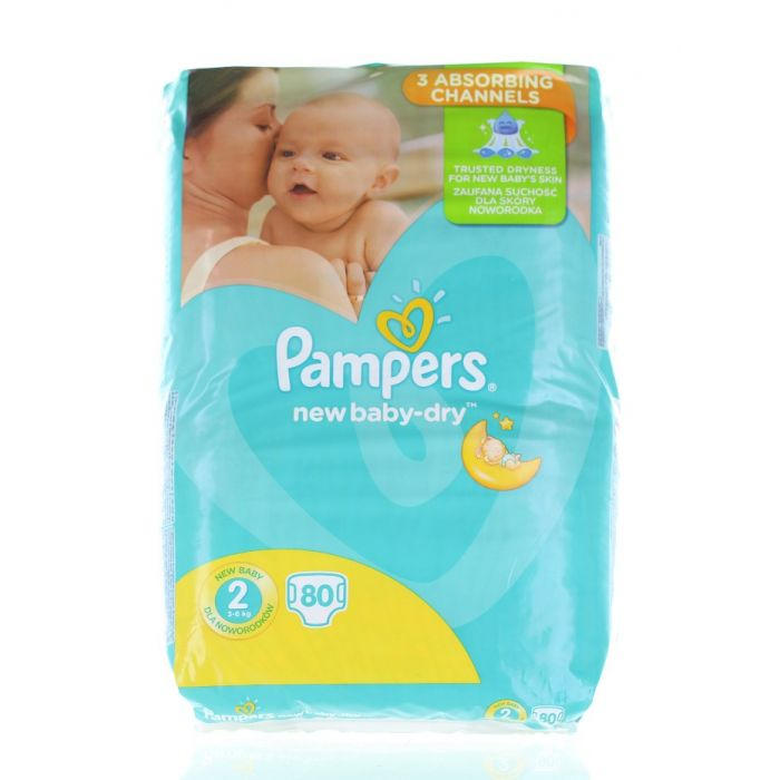 Pampers New Baby nr.2 Mini 3-6 kg 80 buc