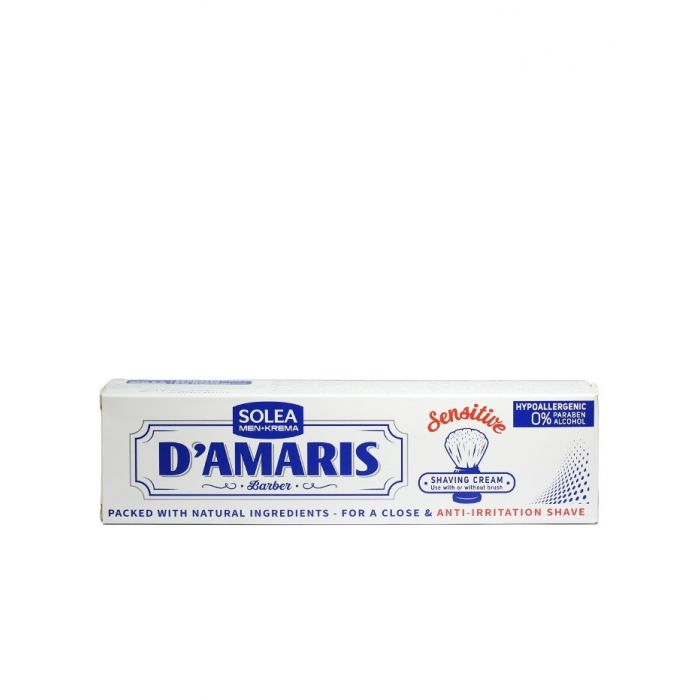 Damaris Pasta pentru barbierit 60 ml Sensitive