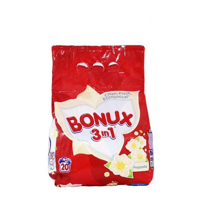 Bonux Detergent automat 1.5 kg 20 spalari 3in1 Magnolia