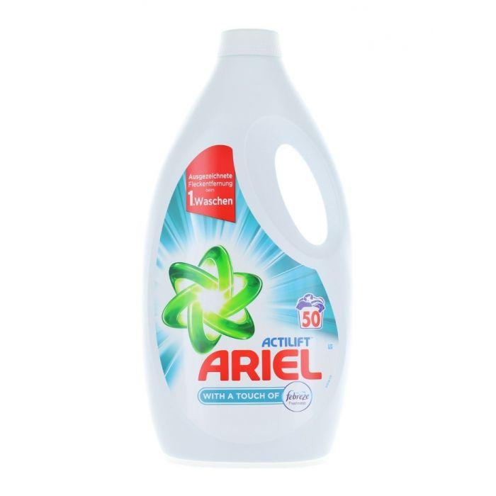 Ariel Detergent lichid 3.25L 50 spalari Actilift Touch of Febreze