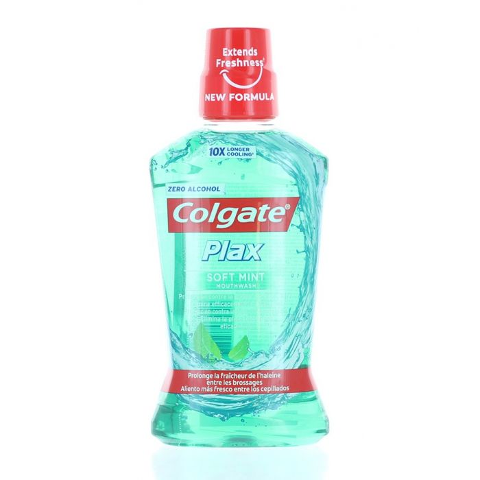 Colgate Apa de gura 500 ml Plax Soft Mint