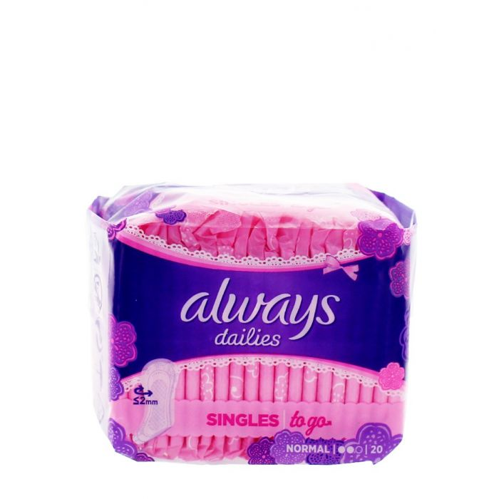 Always Absorbante subtiri zilnice 20 buc Normal
