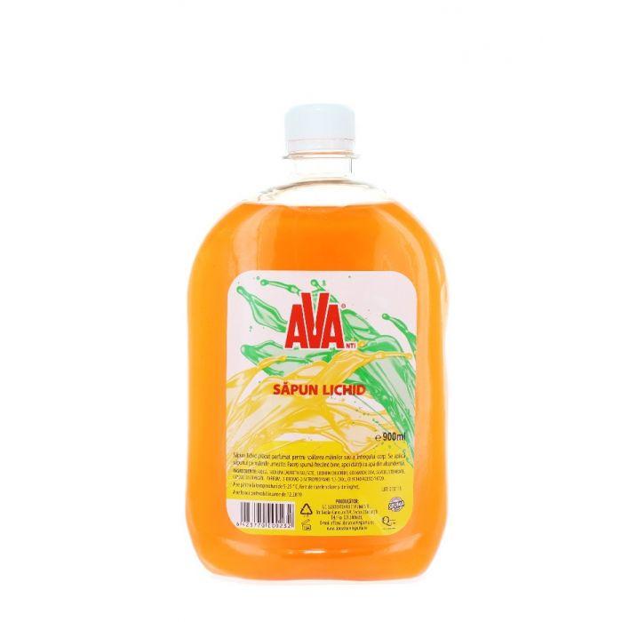 Ava Sapun lichid rezerva 900 ml Portocaliu