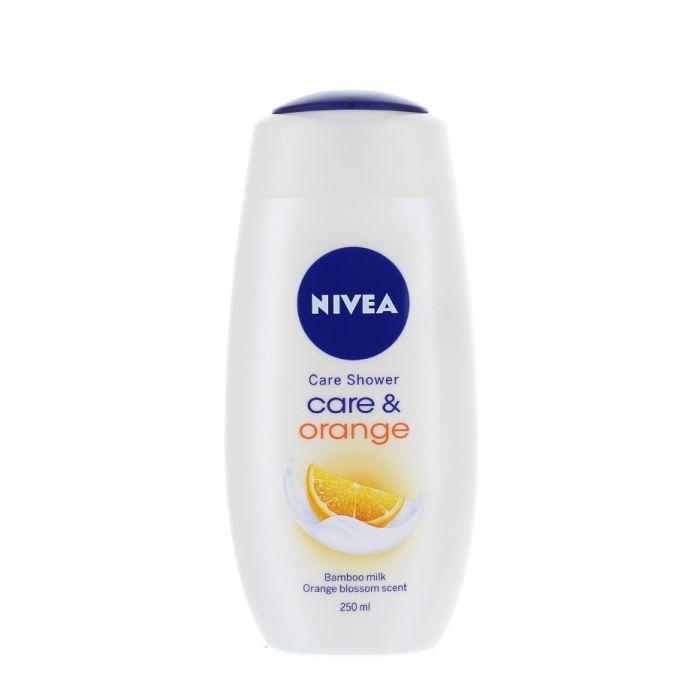 Nivea Gel de dus 250 ml Care & Orange