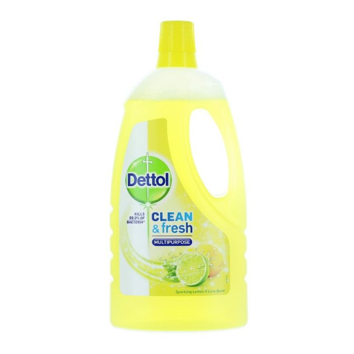 Dettol Detergent pardoseli 1L Lemon&Lime