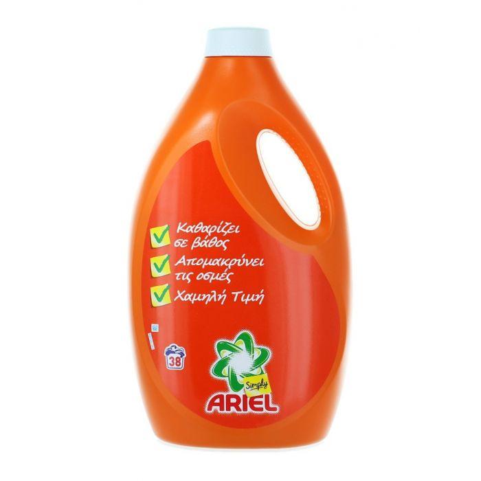 Ariel Detergent lichid 2.47 l 38 spalari Simply Regular