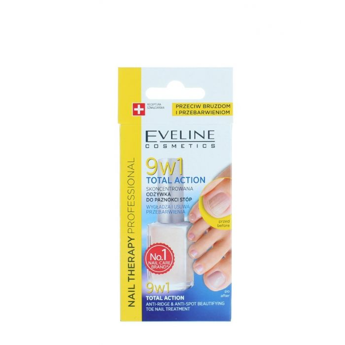 Eveline Tratament Unghii 12 ml Total Action 9 in1