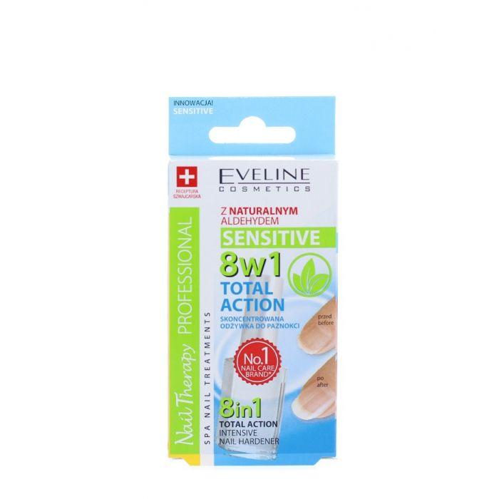 Eveline Tratament Unghii 12 ml Total Action Sensitive