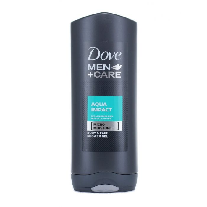 Dove Gel de dus barbati 400 ml Aqua impact