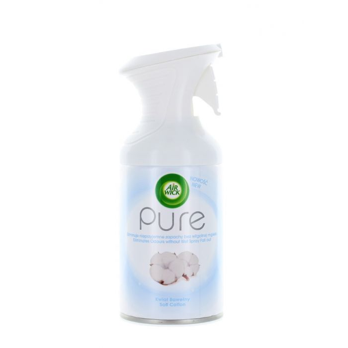 Airwick Spray odorizant camera 250 ml Pure Soft Cotton