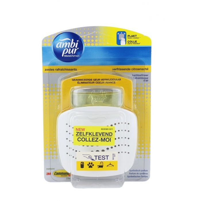 Ambi Pur Aparat Odorizant camera+rezerva 5,5 ml Lemon