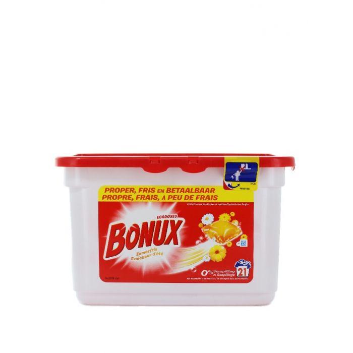 Bonux Detergent Capsule 21 buc Summer Fresh