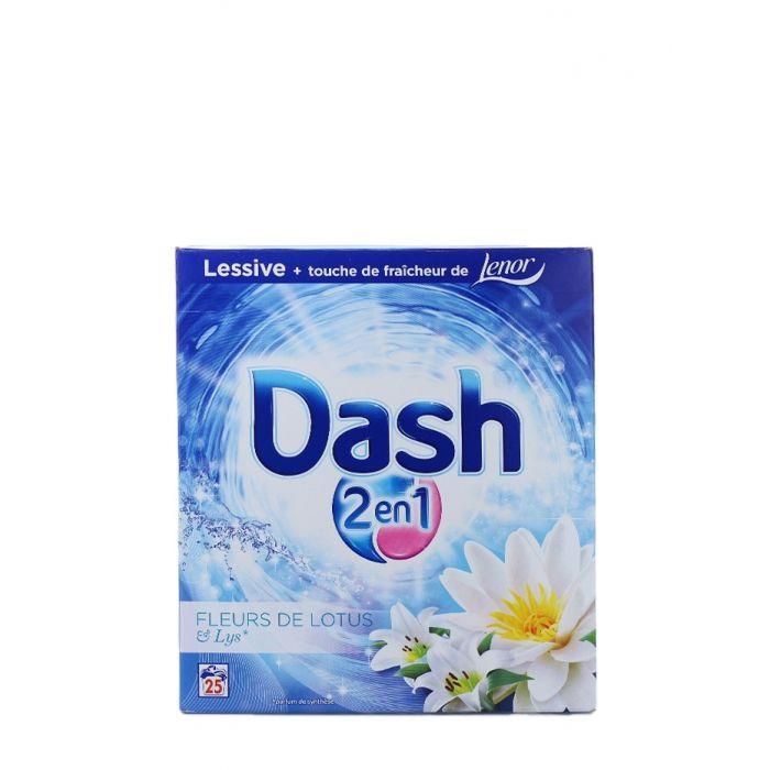 Dash Detergent automat 1625g 25 spalari Fleurs de Lotus