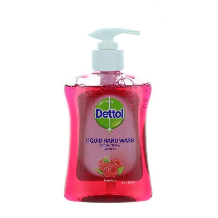 Dettol Sapun lichid cu pompa 250 ml Raspberry